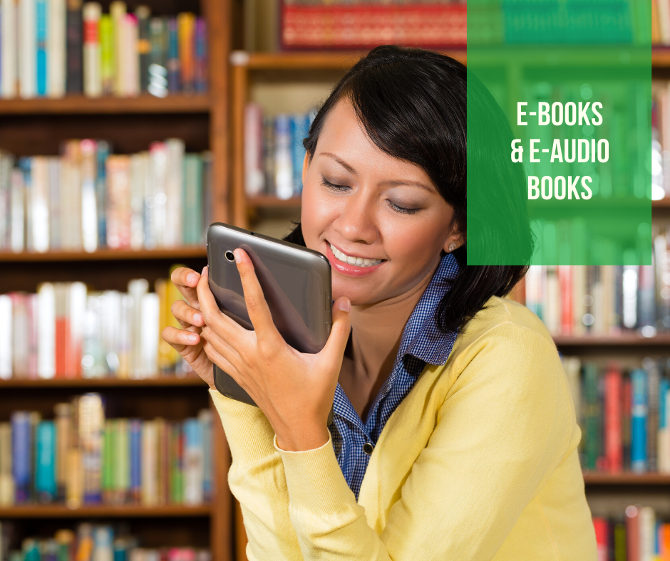 E-books & Audio Books